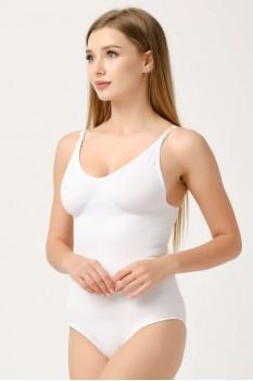 Kadın Beyaz Çıtçıtlı Slip Body Korse